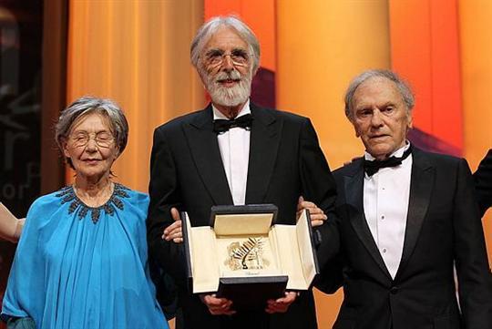 Jean-Louis Trintignant Cannes 2012