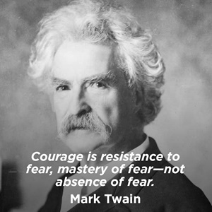 Mark Twain, le courage